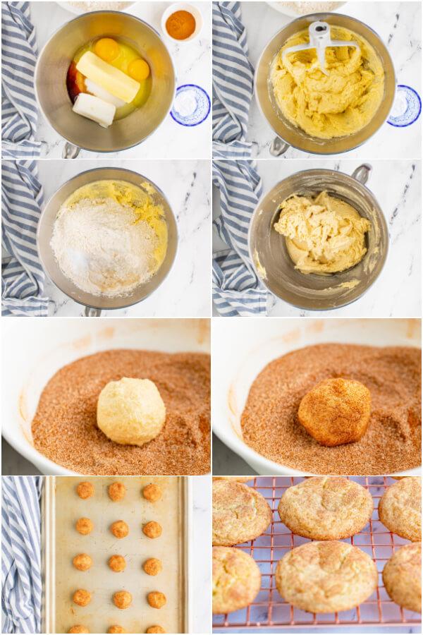 steps to make cookies