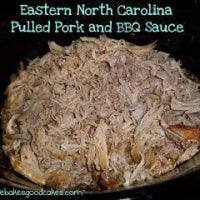 Eastern NC Pulled Pork and BBQ Sauce