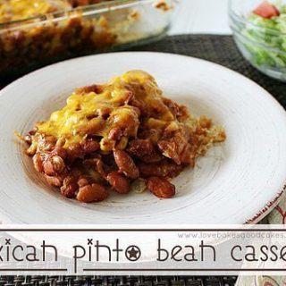 Mexican Pinto Bean Casserole