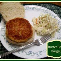 Butter Bean Burgers