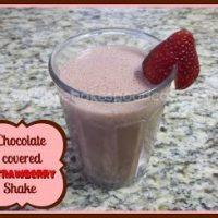 Chocolate-Covered Strawberry Shake
