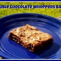 Double Chocolate Whoppers Bars