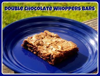 Double Chocolate Whopper Bars