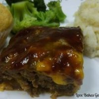 BBQ Bacon Cheeseburger Meatloaf