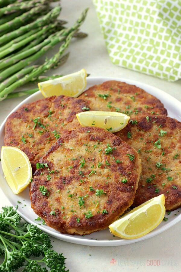 Easy and delicious salmon patties for Lent dinner