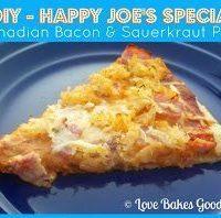 DIY - Happy Joe's Special (Canadian Bacon & Sauerkraut Pizza)