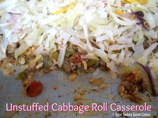 All my Bloggy Friends #2 and Unstuffed Cabbage Roll Casserole