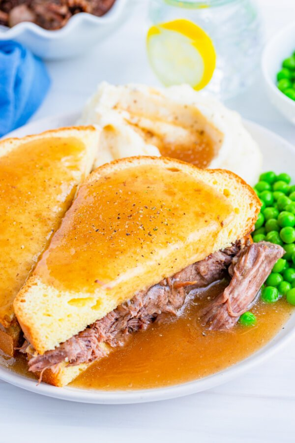 crock pot hot roast beef sandwiches