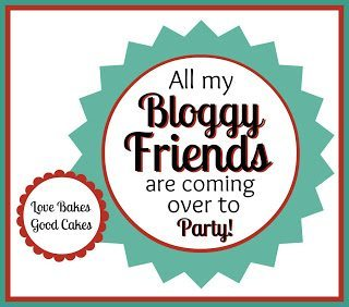 All my bloggy friends are coming over to party