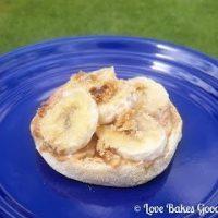 Peanut Butter Banana Breakfast Muffin