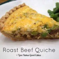 Roast Beef Quiche