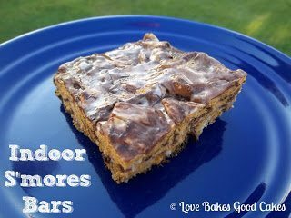 Indoor S'mores Bars