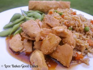 Spicy-Sweet Chinese Chicken