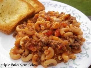 One Pot Goulash – Guest Post