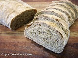 Rustic Triple Apple Bread