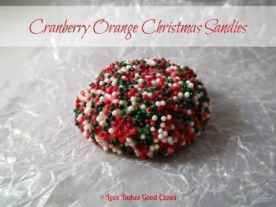 Cranberry Orange Christmas Sandies – Guest Post