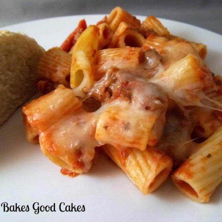Meaty Pasta Bake