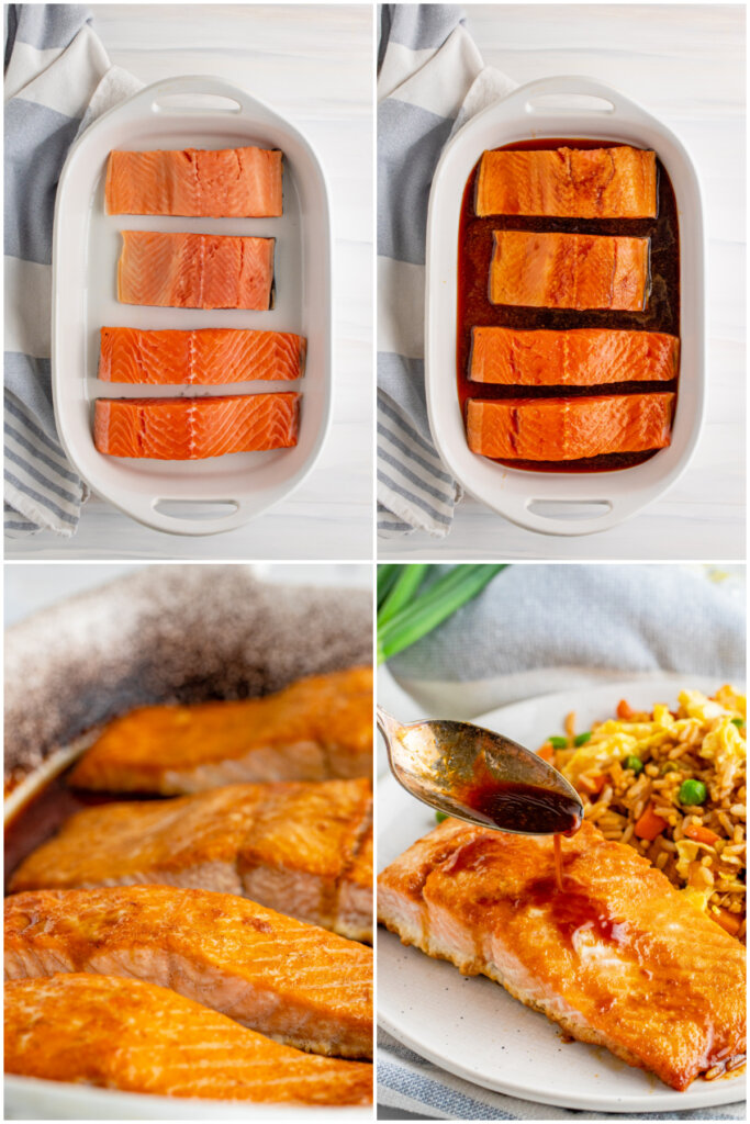 steps on how to bake the fish
