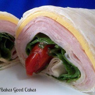 Turkey Spinach Wraps