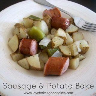 Sausage & Potato Bake