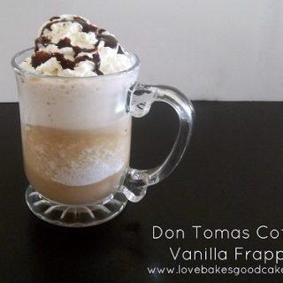 Vanilla Frappe