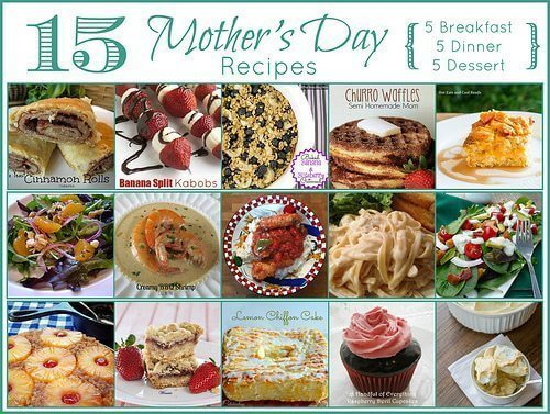 Mother's Day Round-Up from All My Bloggy Friends