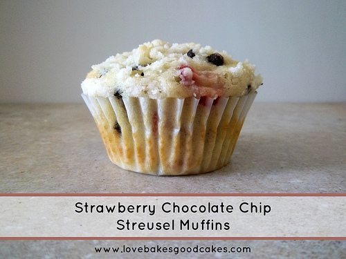 Strawberry Chocolate Chip Streusel Muffins @ Alderberry Hill