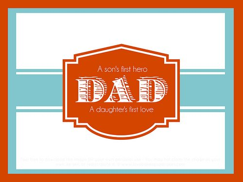 Father's Day Printable 2013