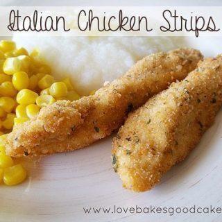 Italian Chicken Strips