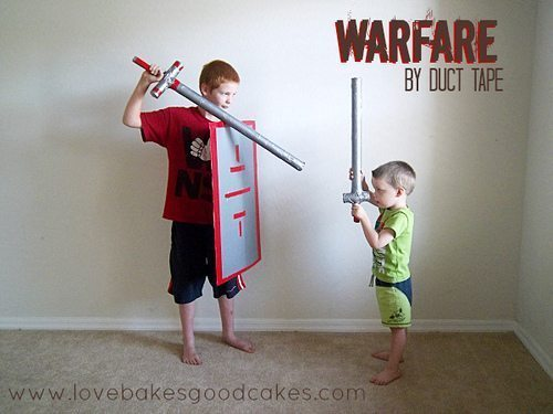 Summer is in Full Swing – Warfare by Duct Tape Giveaway