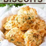 cheddar bay biscuits in bowl