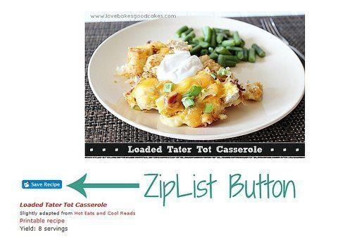 Featured Partner with ZipList