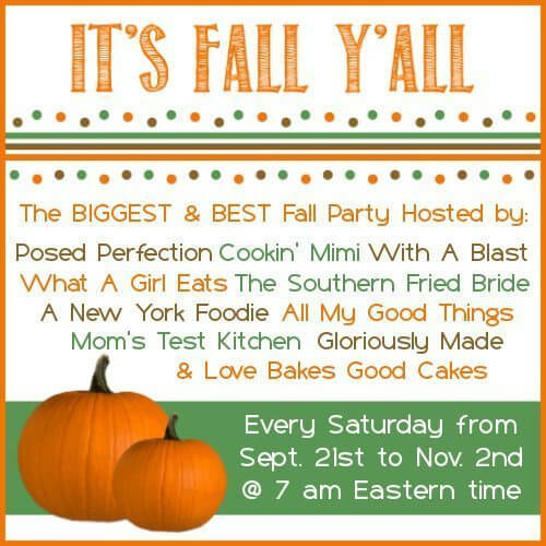 Get Ready For It — It's Fall Y'all Linky Party