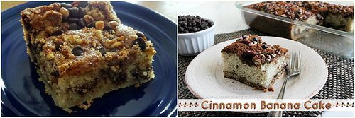 Update – Cinnamon Banana Cake