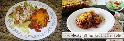 Update – Mexican Pinto Bean Casserole