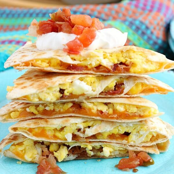 Bacon Egg Cheese Quesadillas Love Bakes Good Cakes