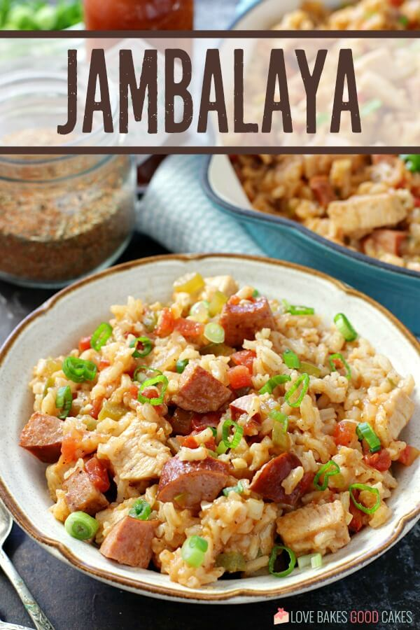 title on Jambalaya in bowl pic