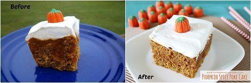 Update – Pumpkin Spice Poke Cake