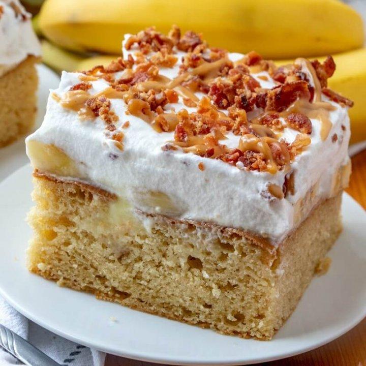 The Ode to Elvis Poke Cake