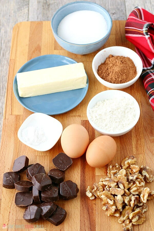 ingredients for chocolate drop cookies