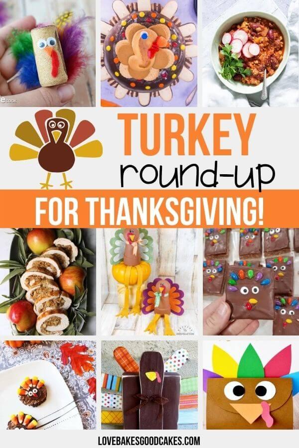 30 turkey-inspired crafts, DIY decor ideas, and recipes.
