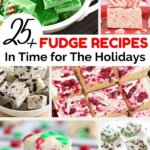 fudge recipes in time for the holidays pin collage