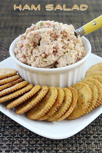 Ham Salad – Put those leftovers to good use!