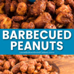 barbecued peanuts pin collage