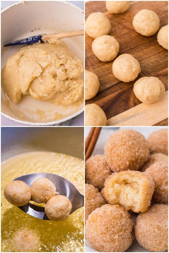 how to make churros poppers