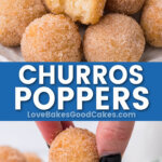 churros poppers pin collage