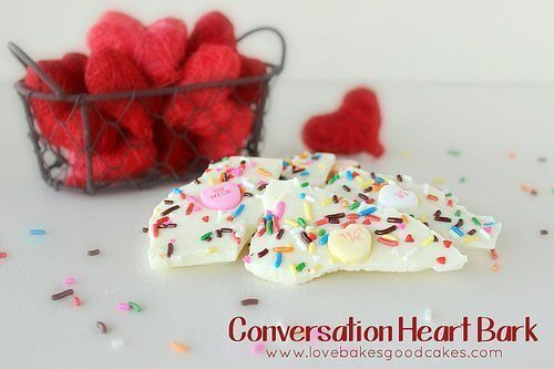 Conversation Heart Bark