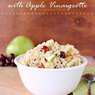 Fruit & Almond Quinoa with Apple Vinaigrette