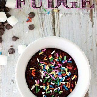 Small Batch Fudge
