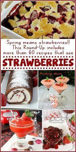 60+ Strawberry Recipes!!